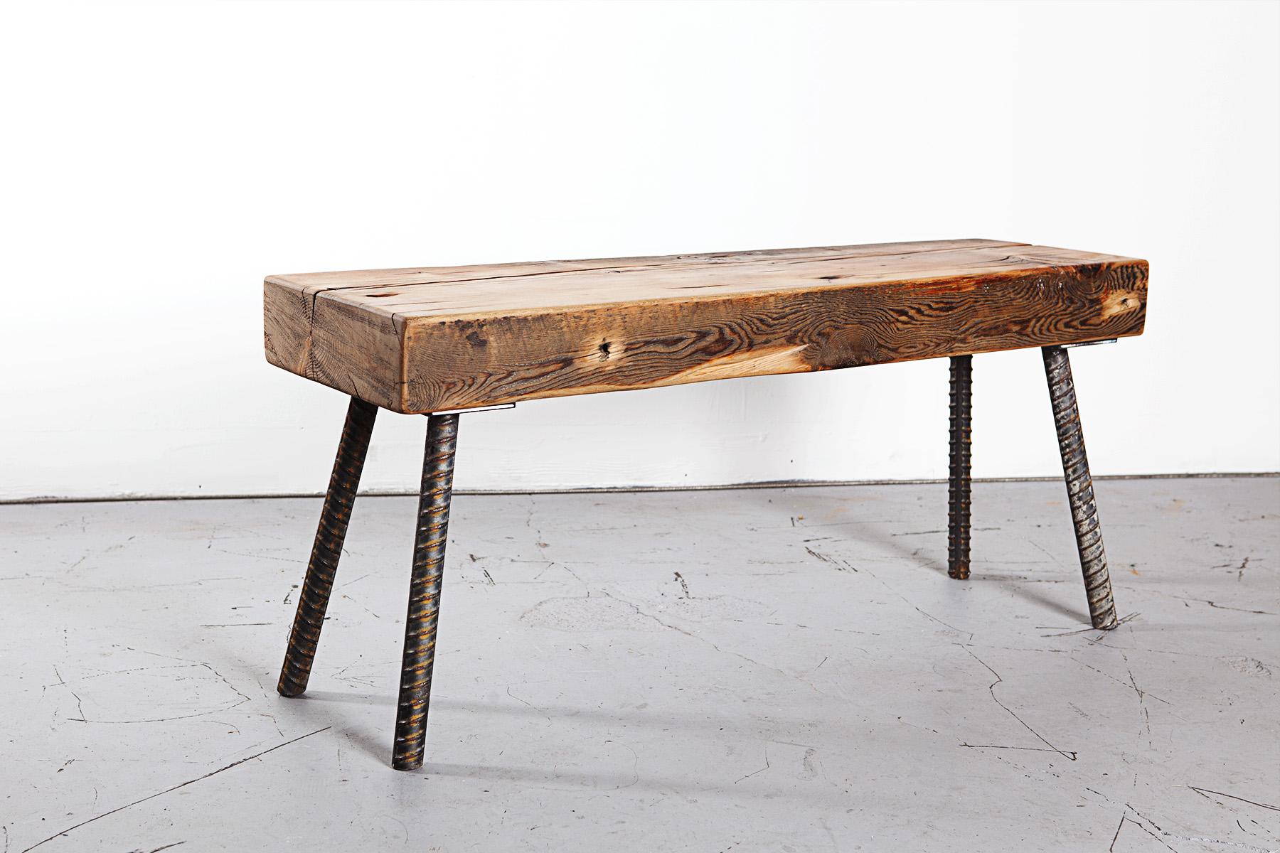 Reclaimed Wood Custom Bench