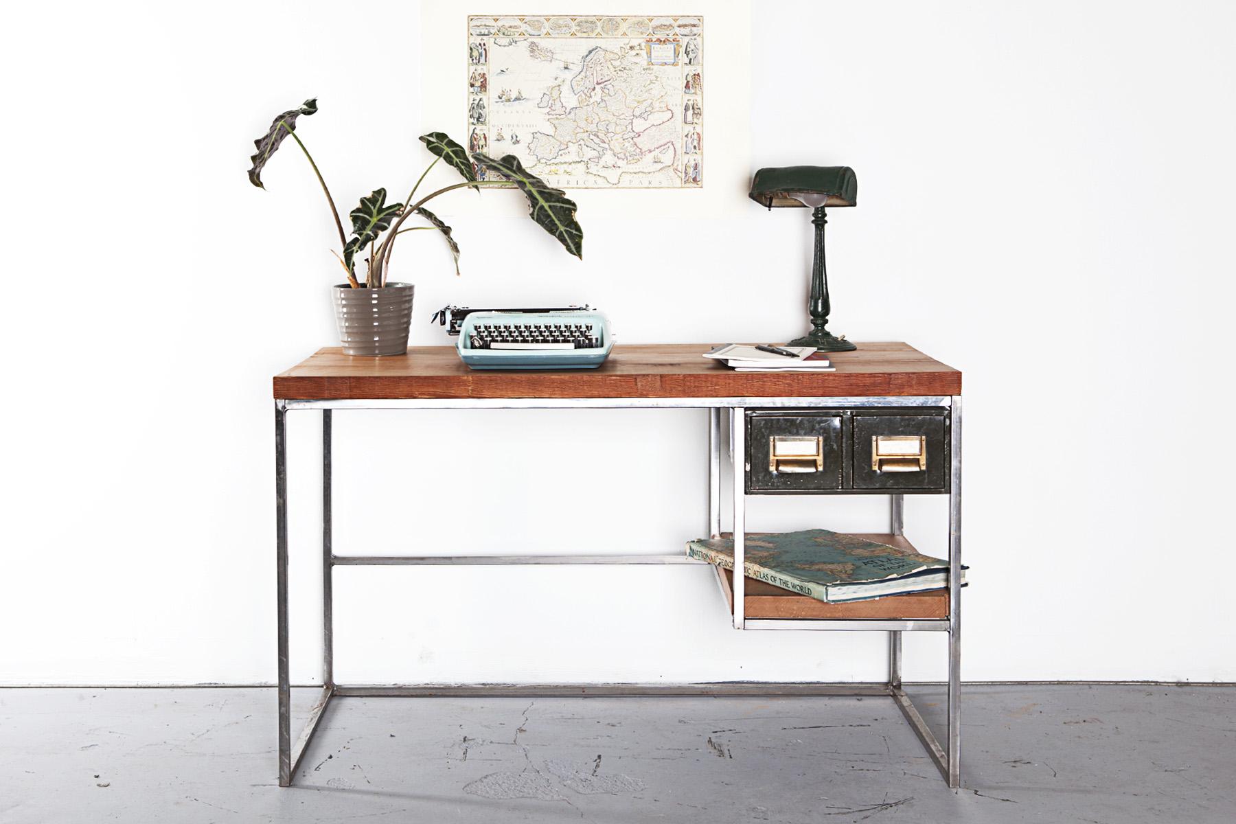 Custom Reclaimed Wood Desk
