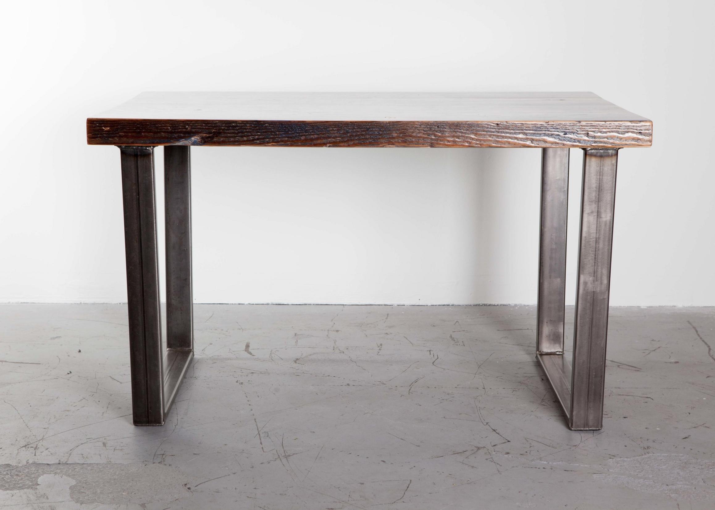 Indigo Blue Reclaimed Fir Dining Table