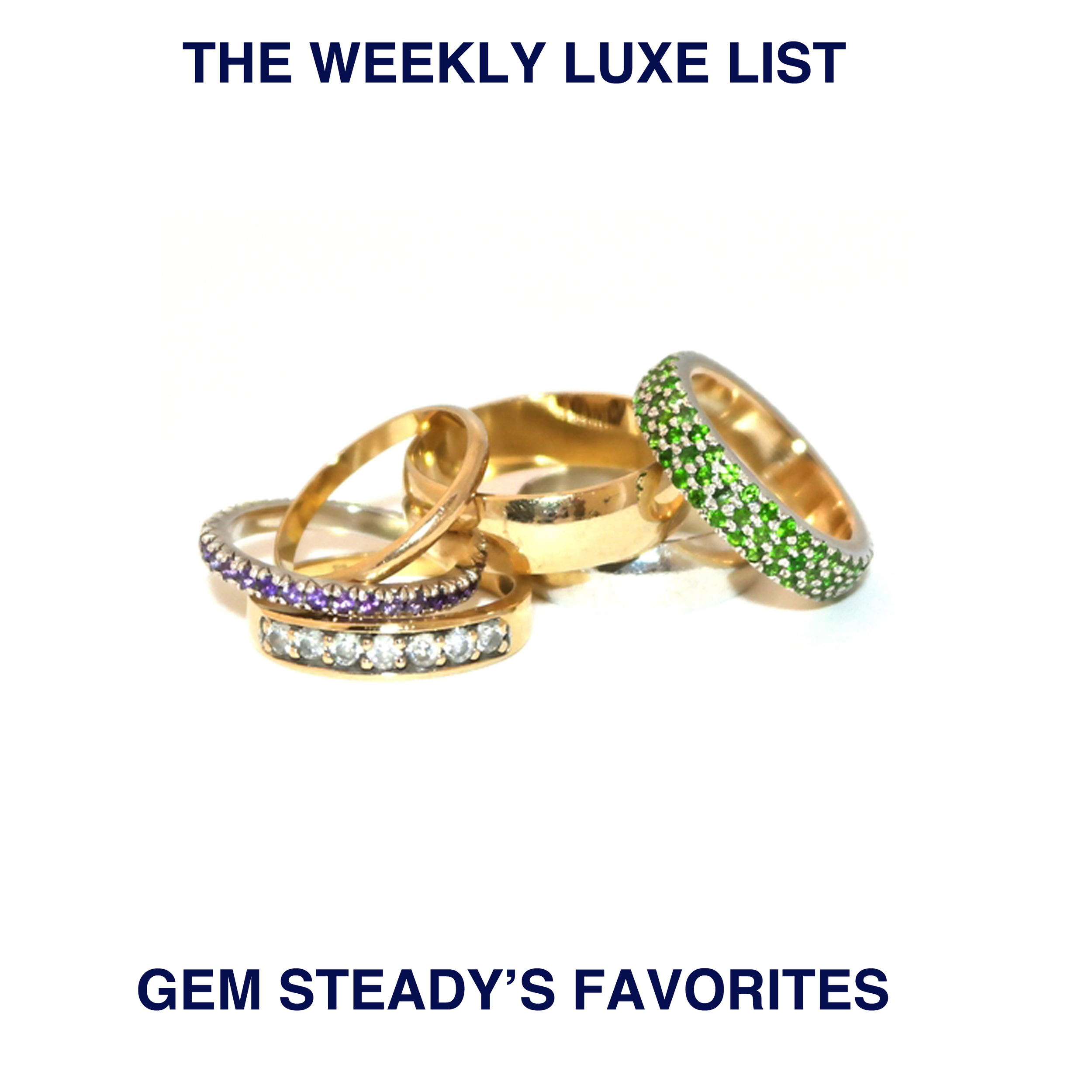 STUNNING STACK RINGS AVAILABLE AT http://www.gemsteady.com/
