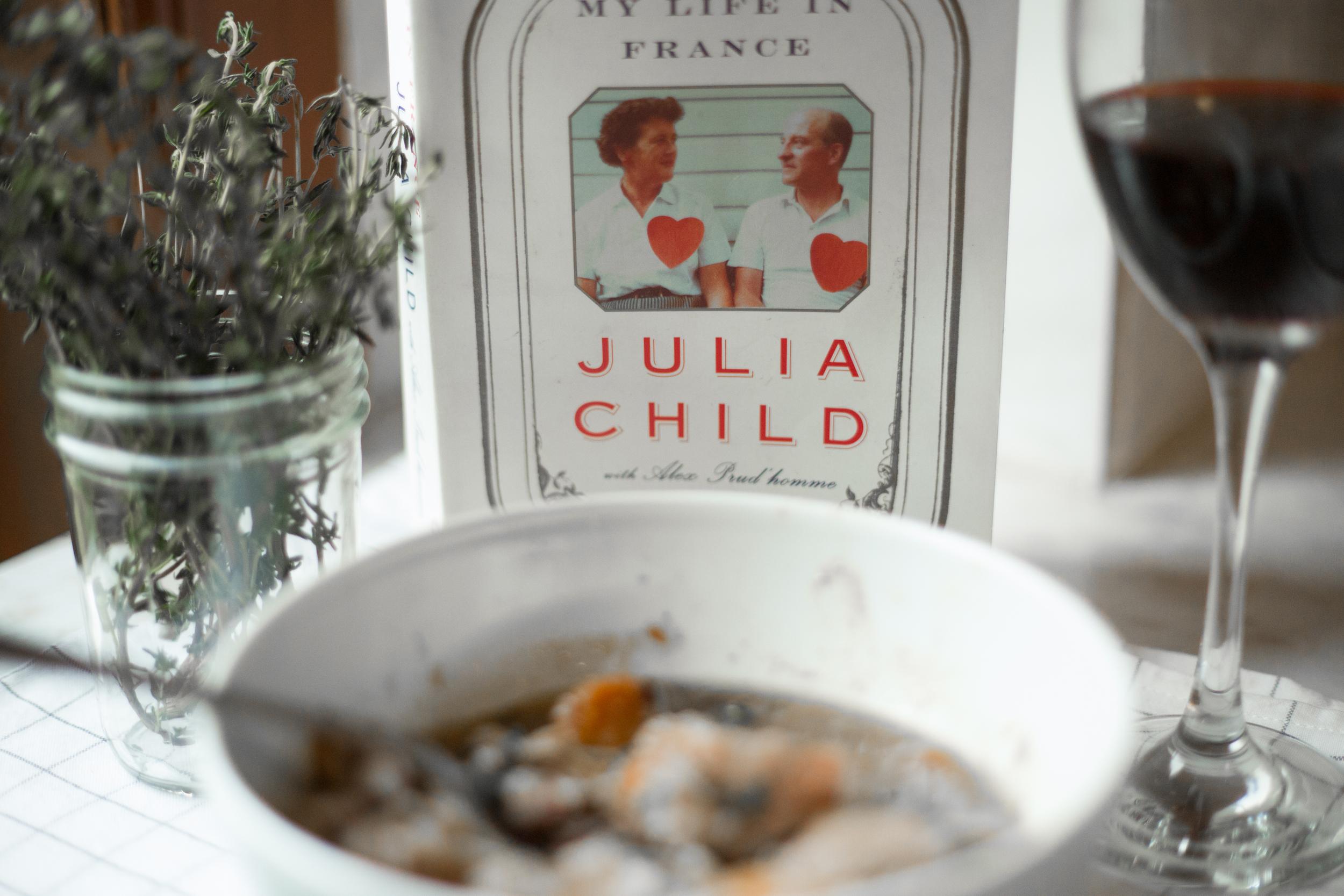 Julia Child Coq au vin