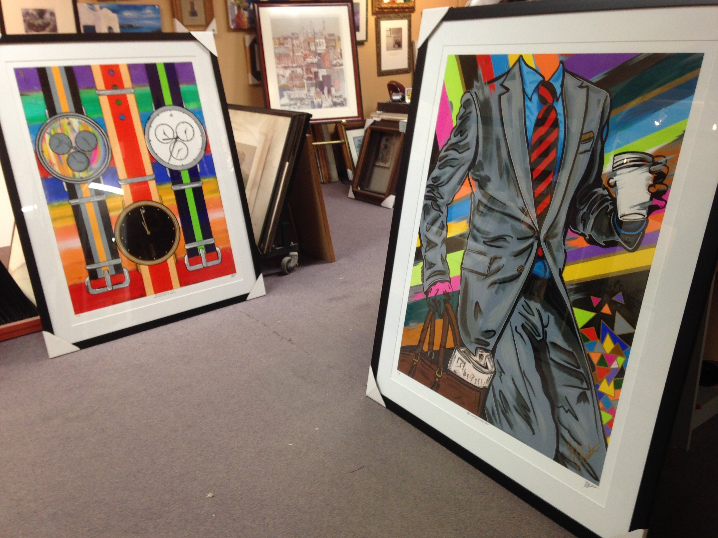 FRAMED GICLEES BY SAMARA SHUTER .JPG