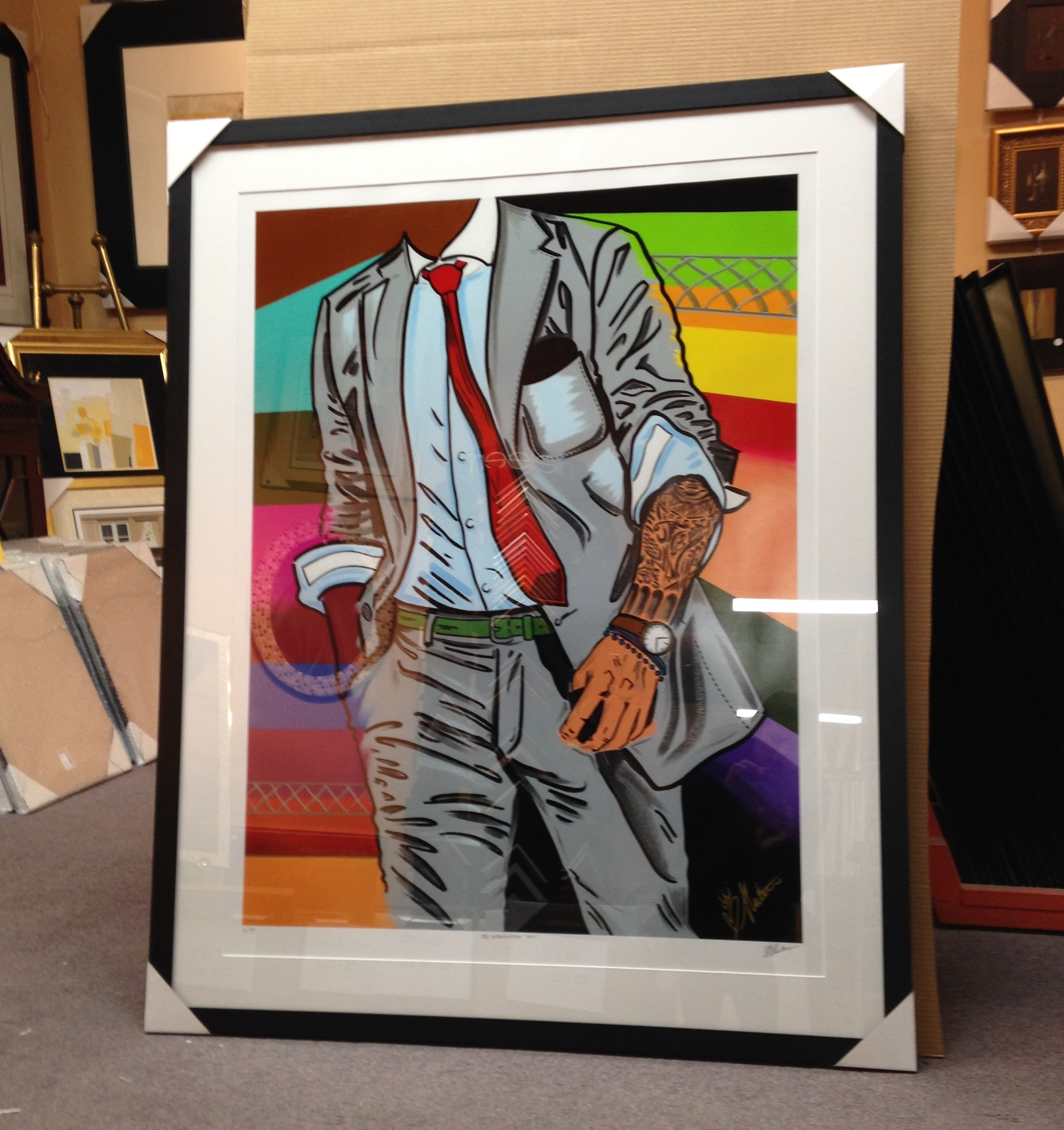 THE INTRODUCTION #11 FRAMED GICLEE BY SAMARA SHUTER.jpg