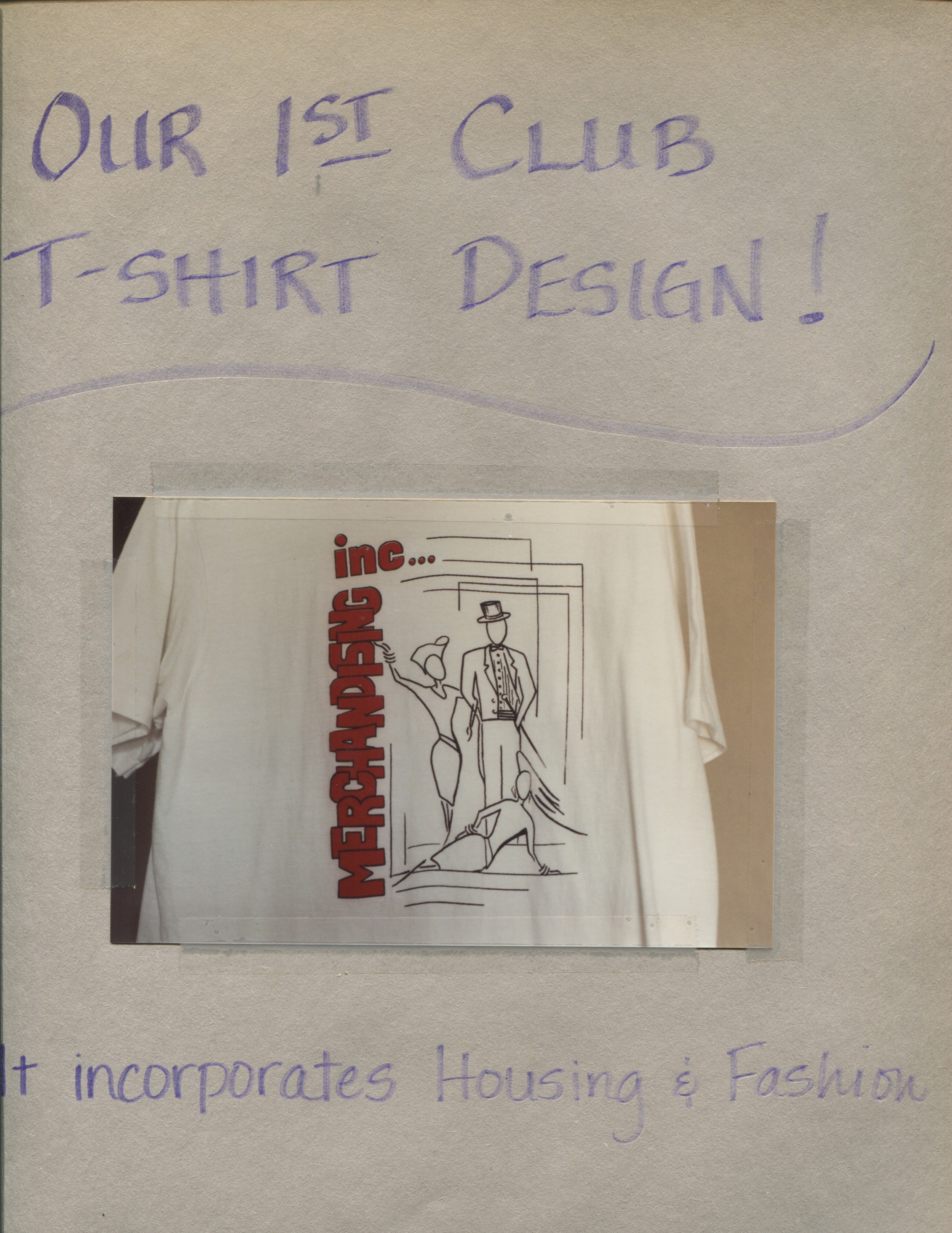 Merchandising Inc.'s First T-Shirt Design Circa 1988 (Click to enlarge)