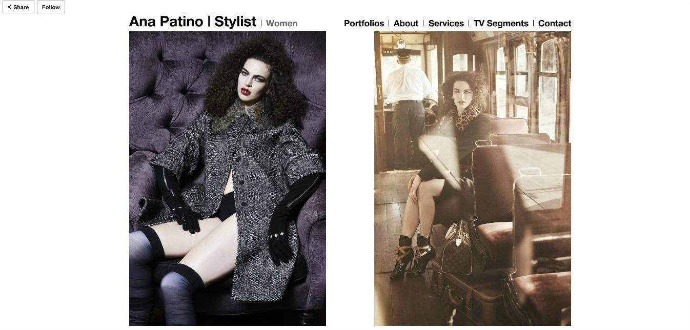 Ana's portfolio