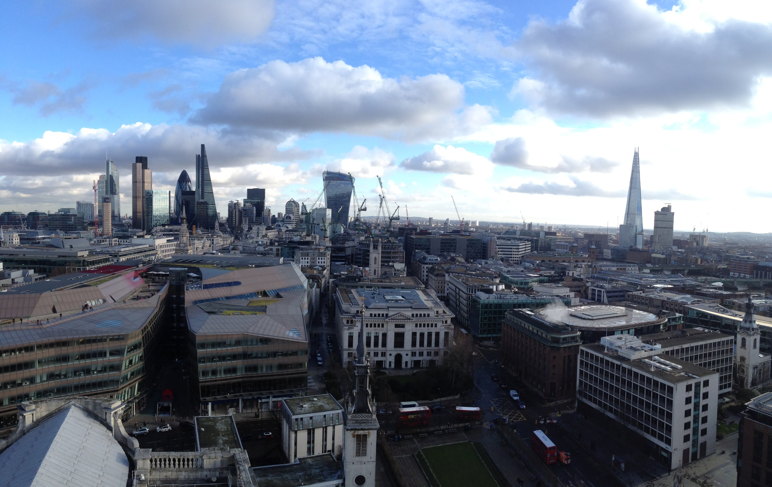 View from the top of St. Paul's - London, UK