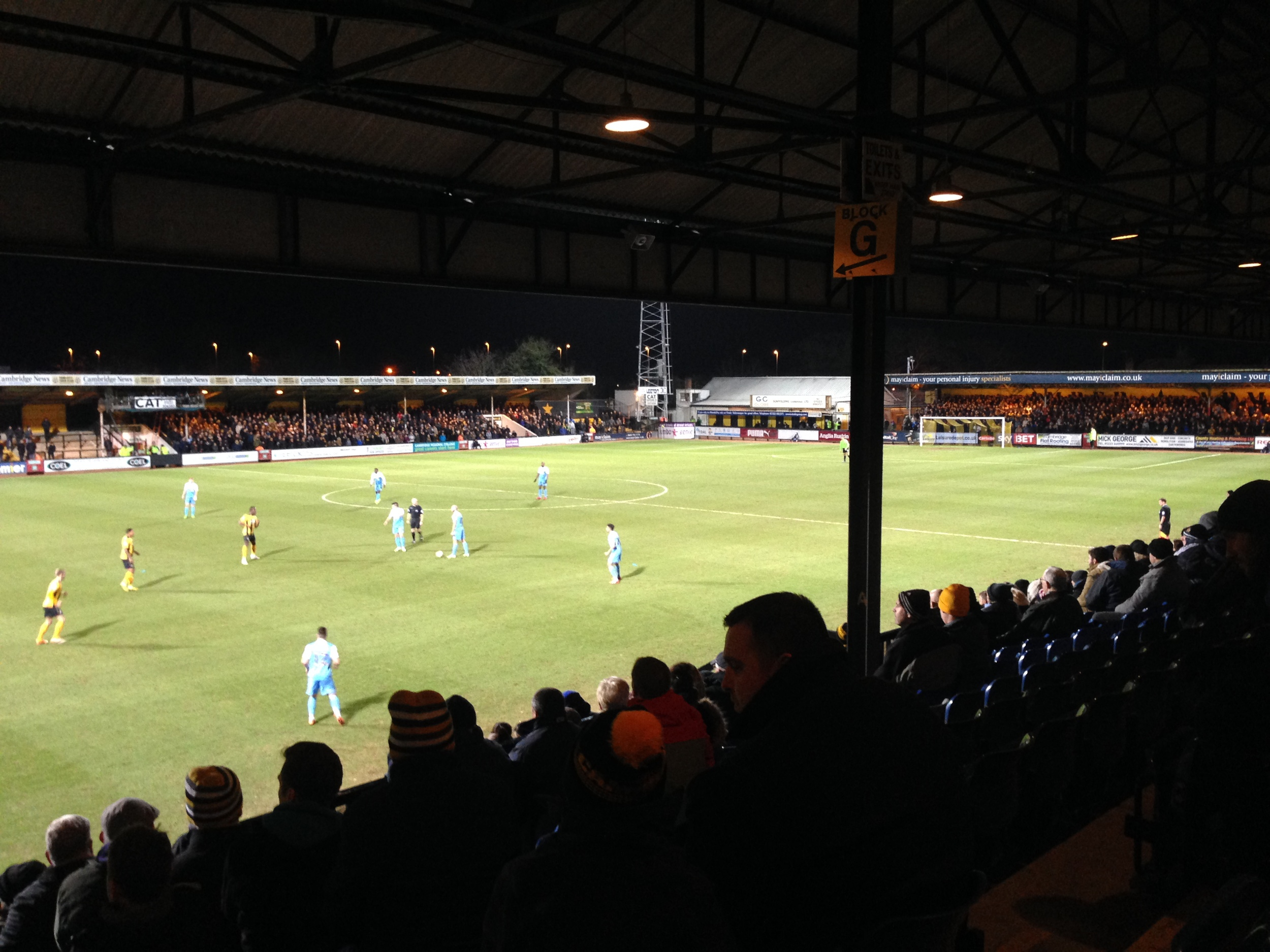Cambridge United vs York