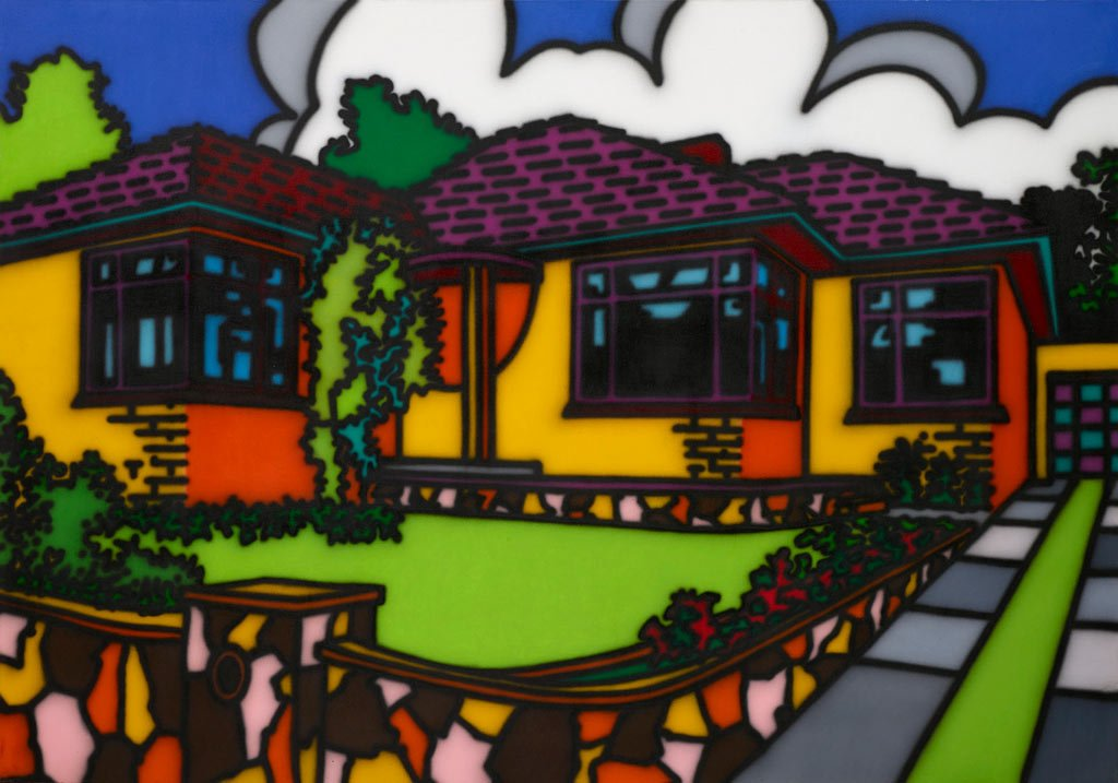 Pop to Popism image of house