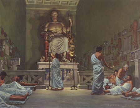 """""""The Temple and Cults of Asclepius"""" by Robert Thom Peel"""