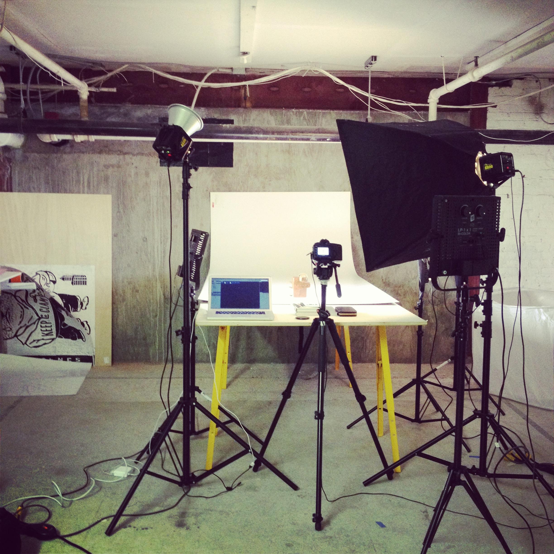 Product shot process