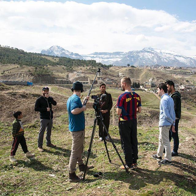 BTS of The Refugee Documentary PC: @adamreadfoto #refugee #interview #iraq #documentary #fs7