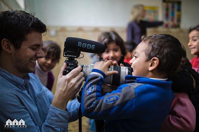 Iraq Preschool #refugees #rode #canon #sony PC: @adamreadfoto