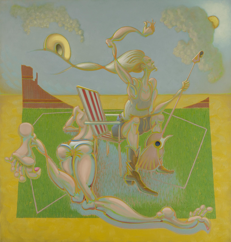 """sun bather and bluesman"" by Hiroyuki Nakamura"