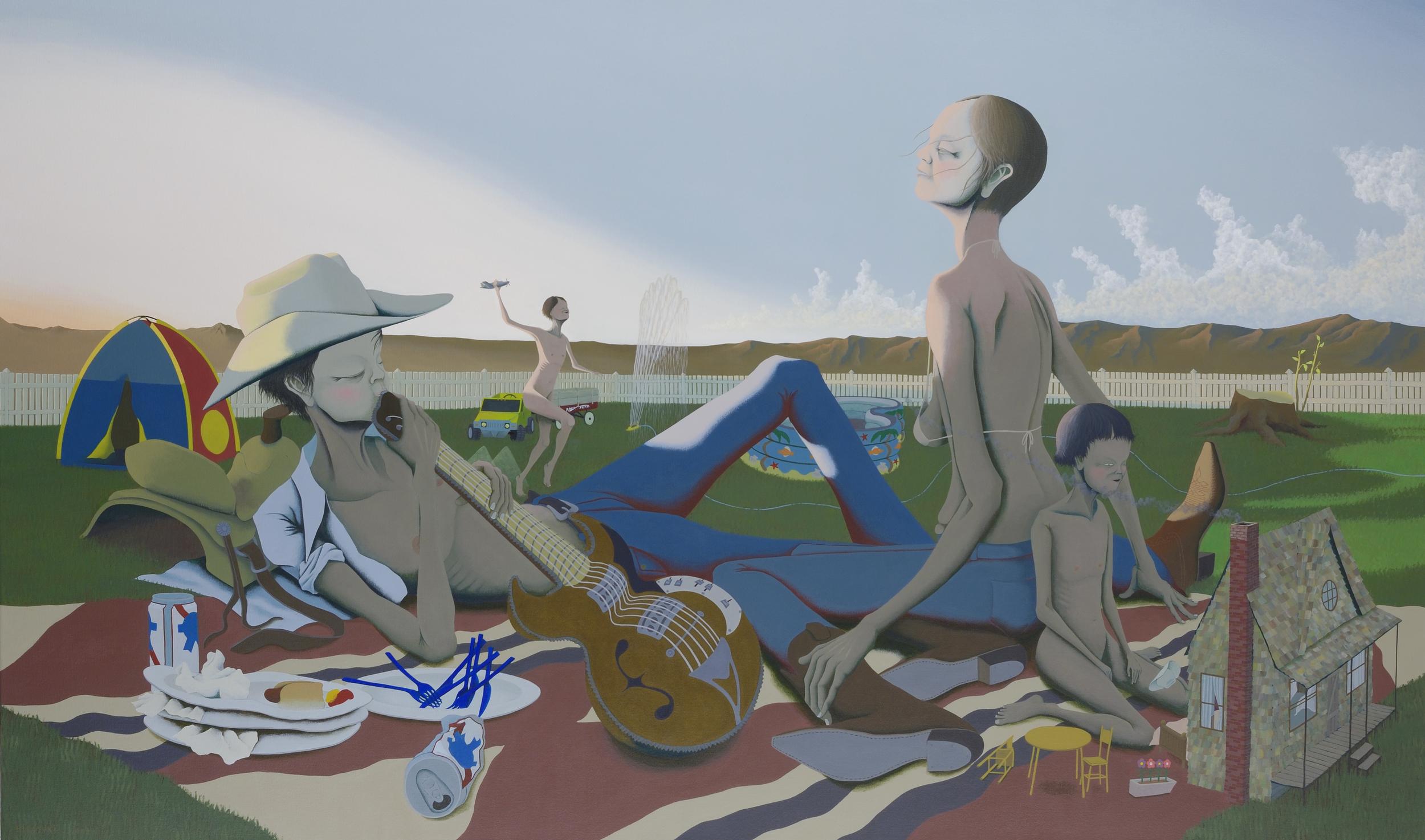 """""""backyard campers"""" by Hiroyuki Nakamura"""