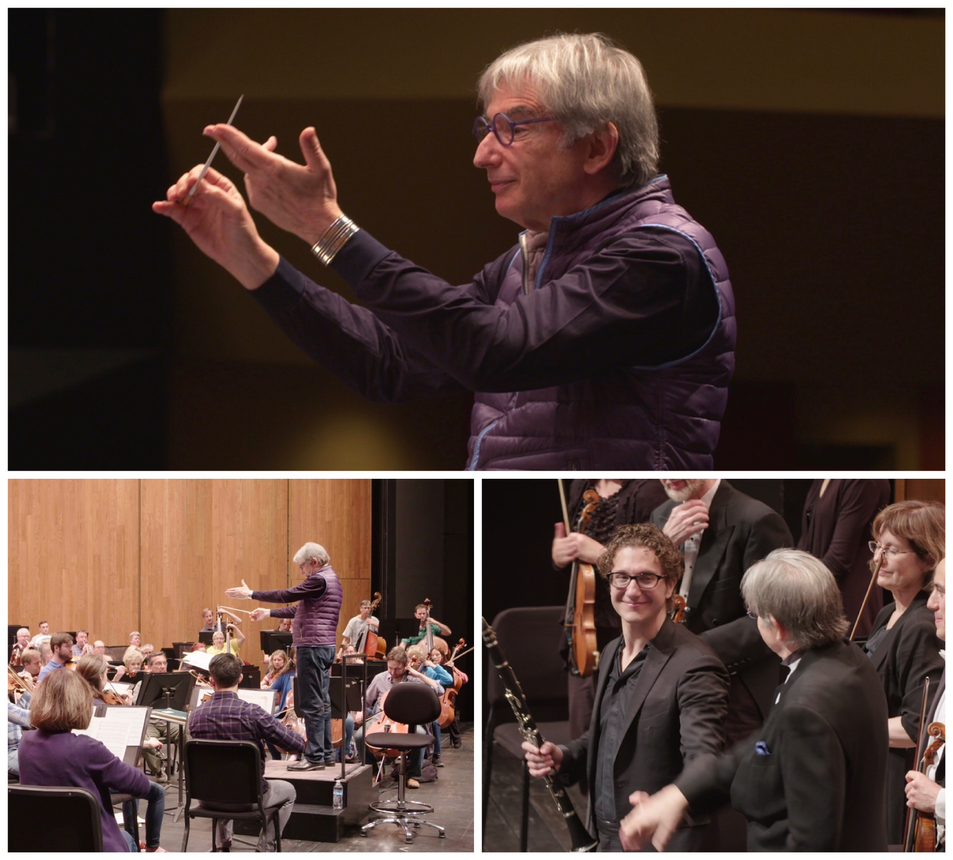 MTT and the Louisville Orchestra rehearse, mentor and mentee take a bow