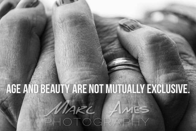 #Age and #Beauty are not mutually exclusive.