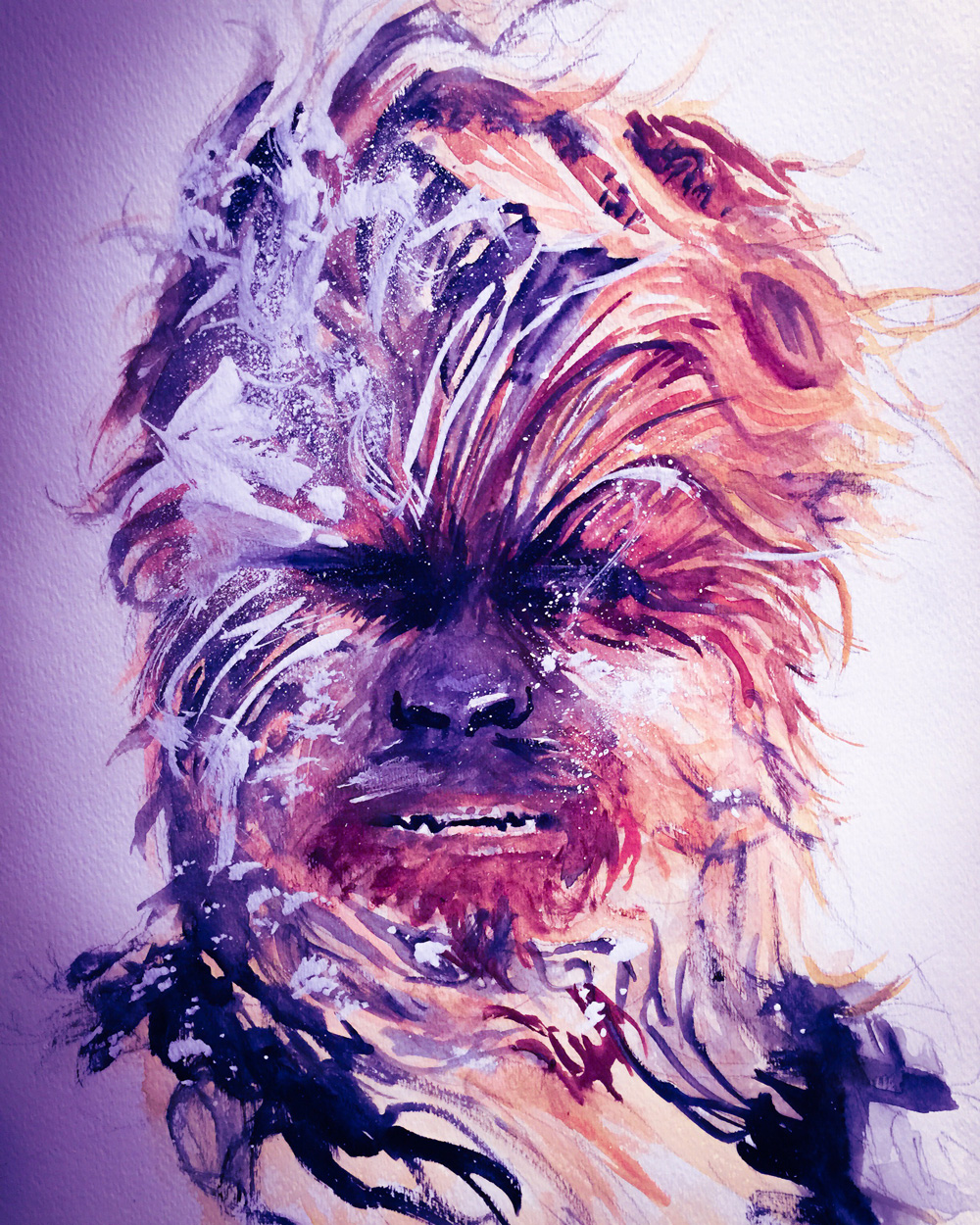 12.25.2015 Everyday Number 86 Wookie Life Day