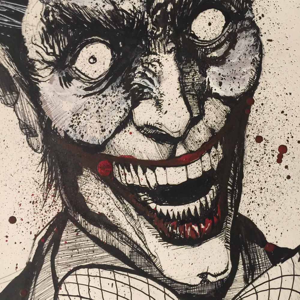 10.30.2015 Everyday Number 30 Joker