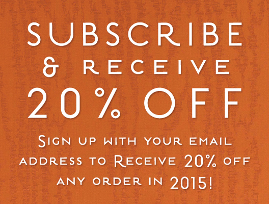 Subscribe 20% OFF