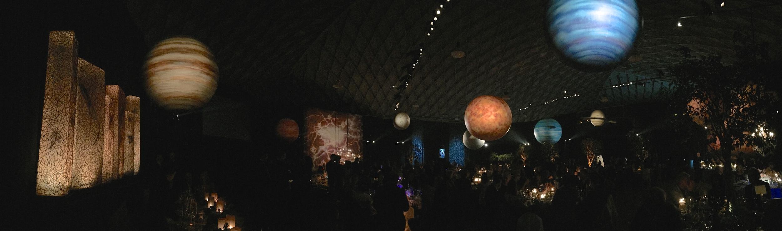 Planets by Matthew McAvene Santa Barbara Museum of Natural History 100 year Anniversary Party .JPG