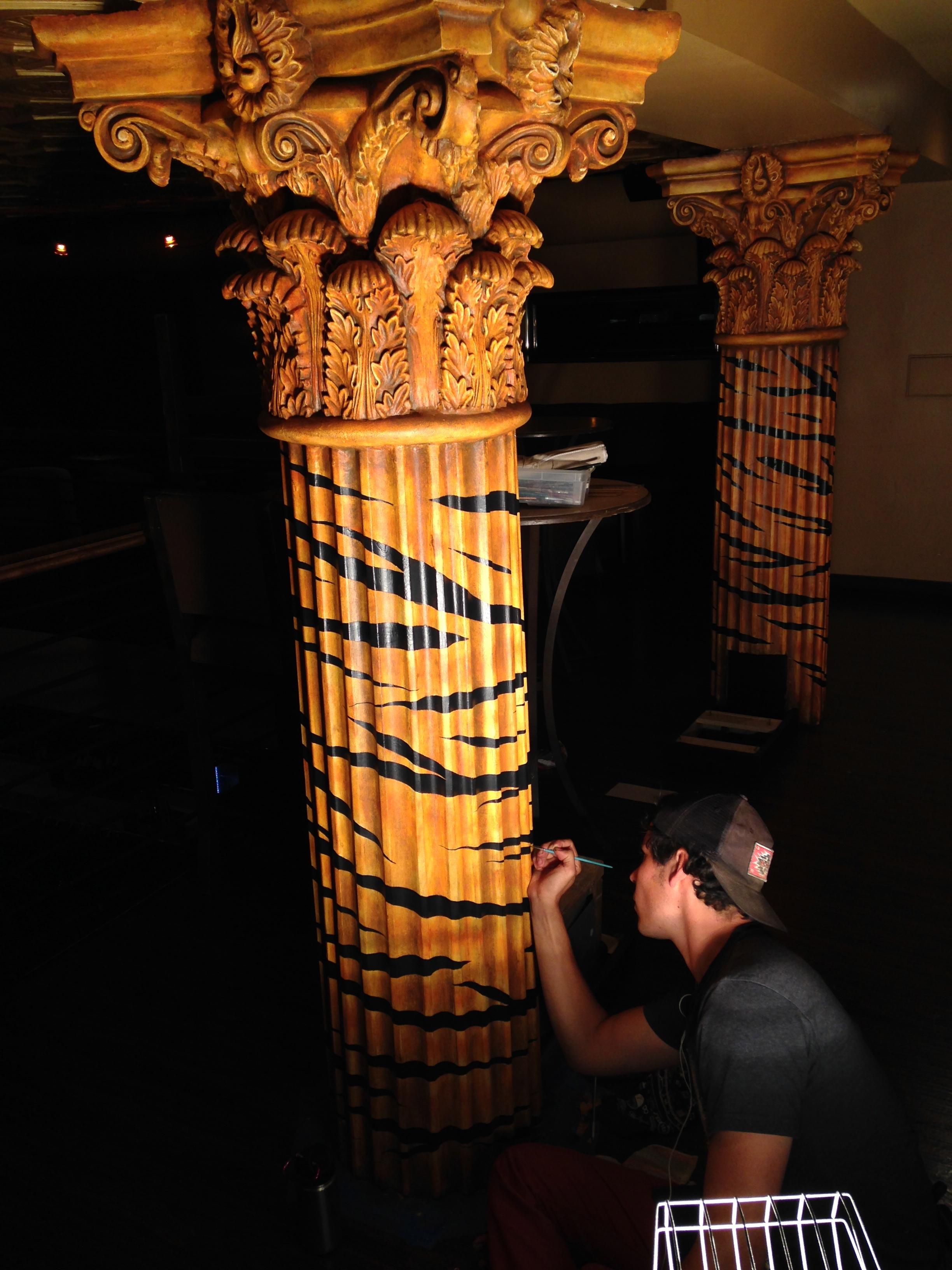 Tiger Striped Pillars by Matthew McAvene Creations.jpg