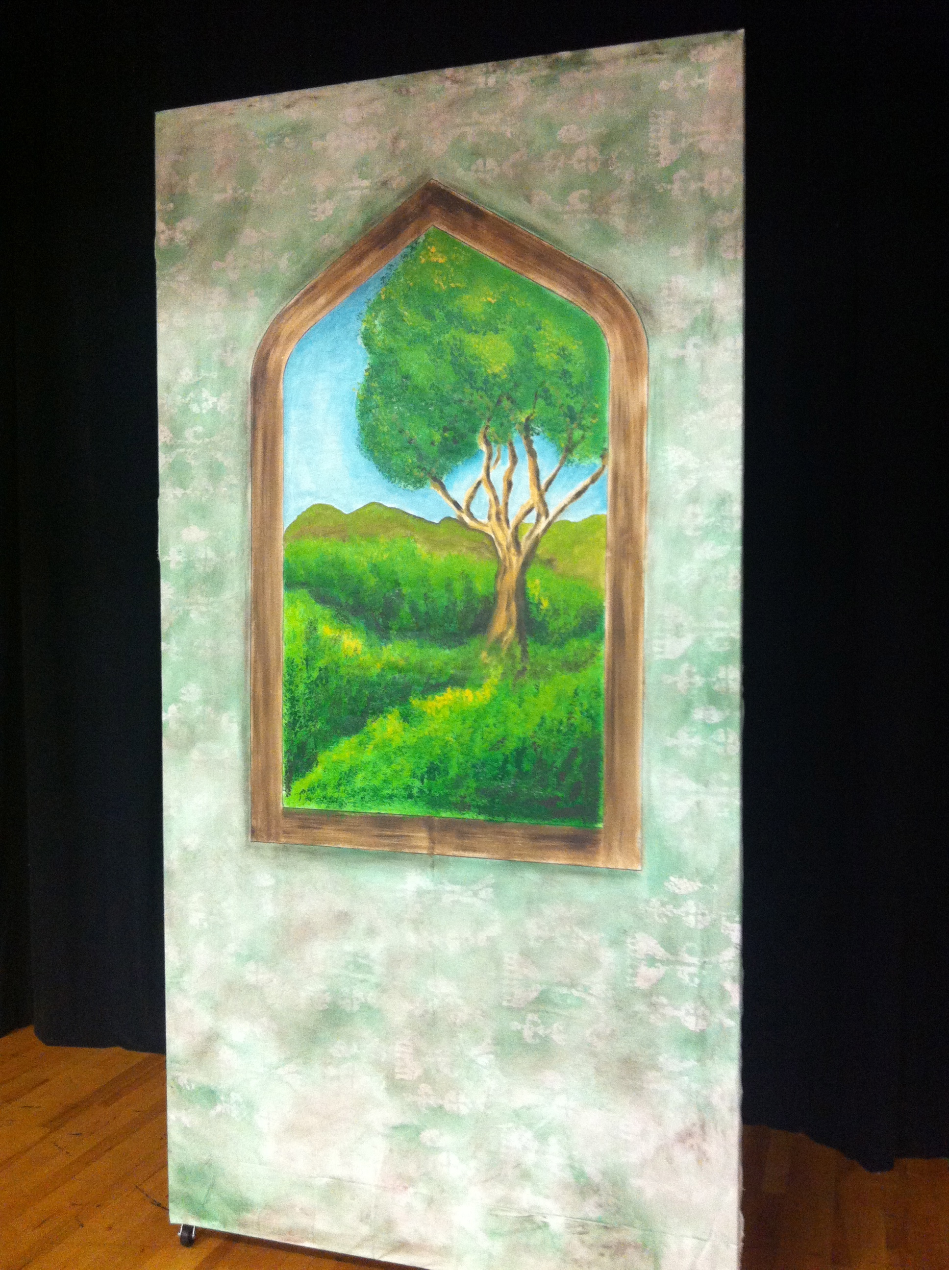 4'x8' Scenic Painting & Rolling Set Flat by Matthew McAvene for King and I.jpg