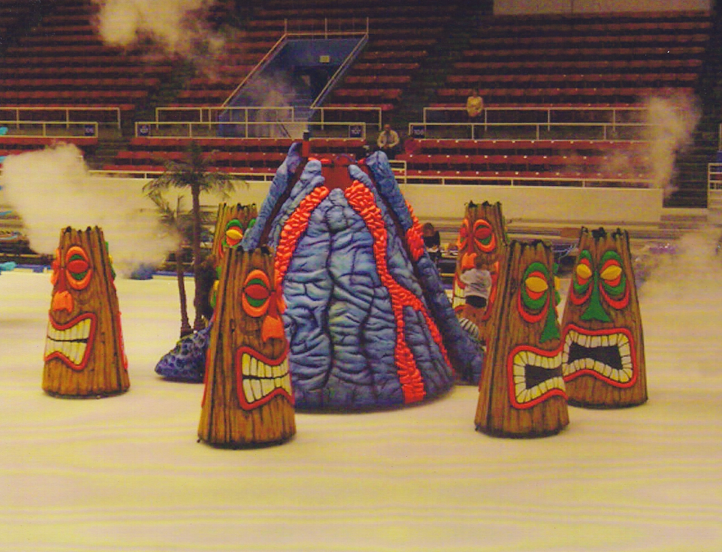 Tiki Props for Disney On Ice by McAvene Designs