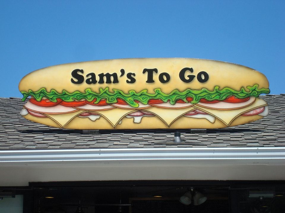 Sub Sandwich Sign by Matthew McAvene