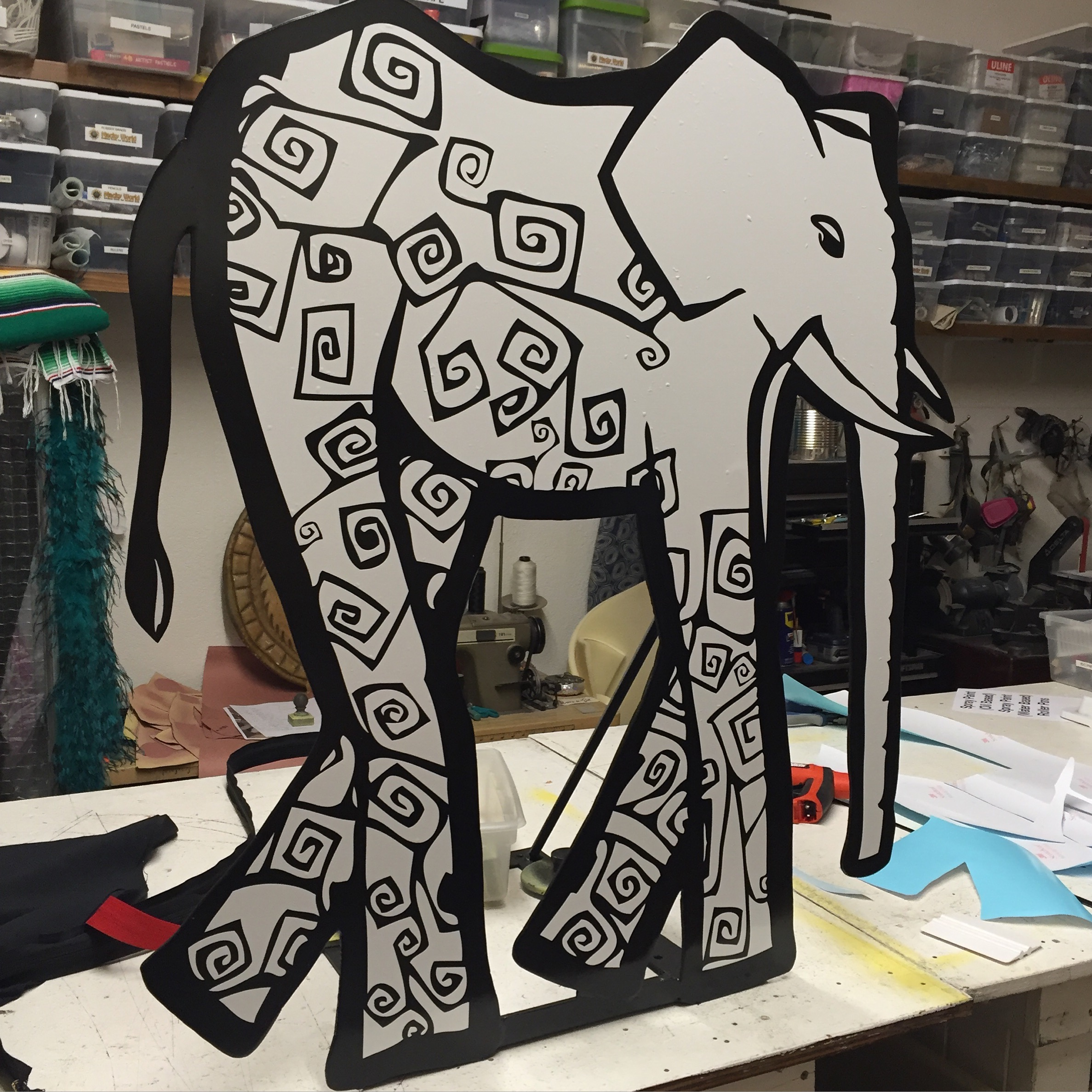 Elephant Sign for Oniracom by Matthew McAvene