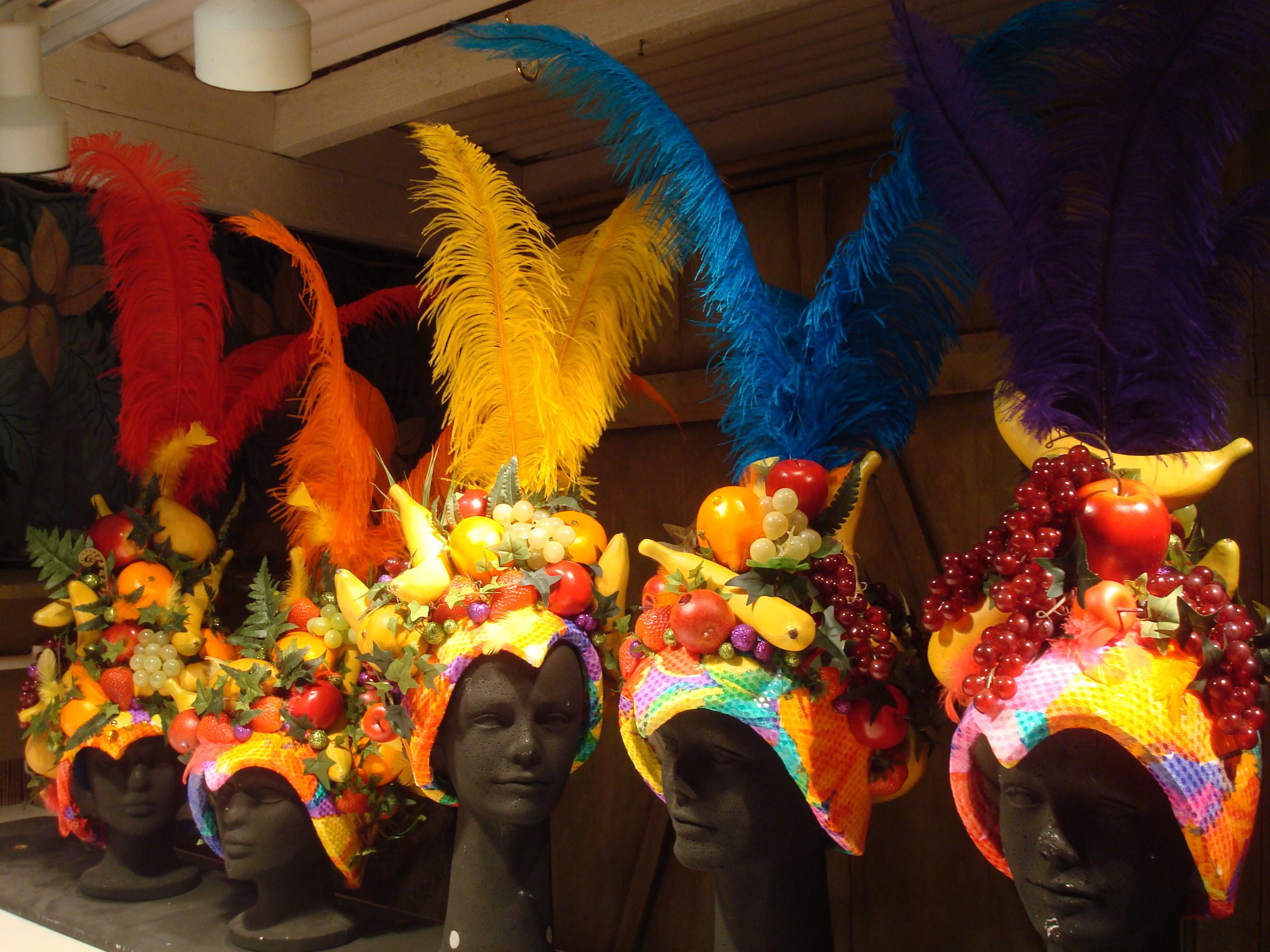 Carmen Miranda Hats by Matthew McAvene
