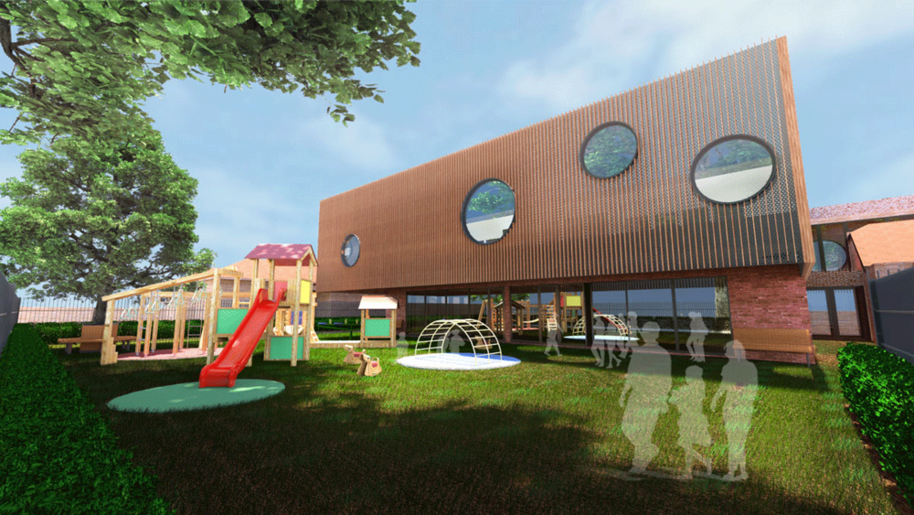 The design of Murray Rd Preston balances the needs of child, parent, developer and licensee.