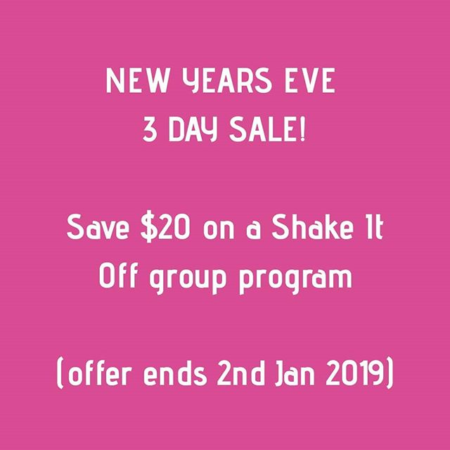 NEW YEARS EVE 3 DAY SALE Save $20 on your program fee (Offer expires 2nd January 2019  We start Monday 7th January 12pm Robina Wednesday 16th January 10am Currumbin  Michelle & Cindi will support you every step of the way throughout your program. Weekly meetkings Weekly informative workshops Weekly VLA - bio impedance testing Your one on one health check Support material Personal health journal  Do you have a query about the program? Contact us Michelle 0424 928 475 Cindi 0407 546 245 #nurturehealthsolutions #cindiyoungnaturopath #newyearnewme #newyearnewyou #weightlosssupportgroup #weightlosssolutions #naturalhealthsolutions #nomoremuffintop #moreenergy