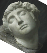 The Dying Slave by Michelangelo, one of the selection of casts available for the Wiltshire Workshop students.