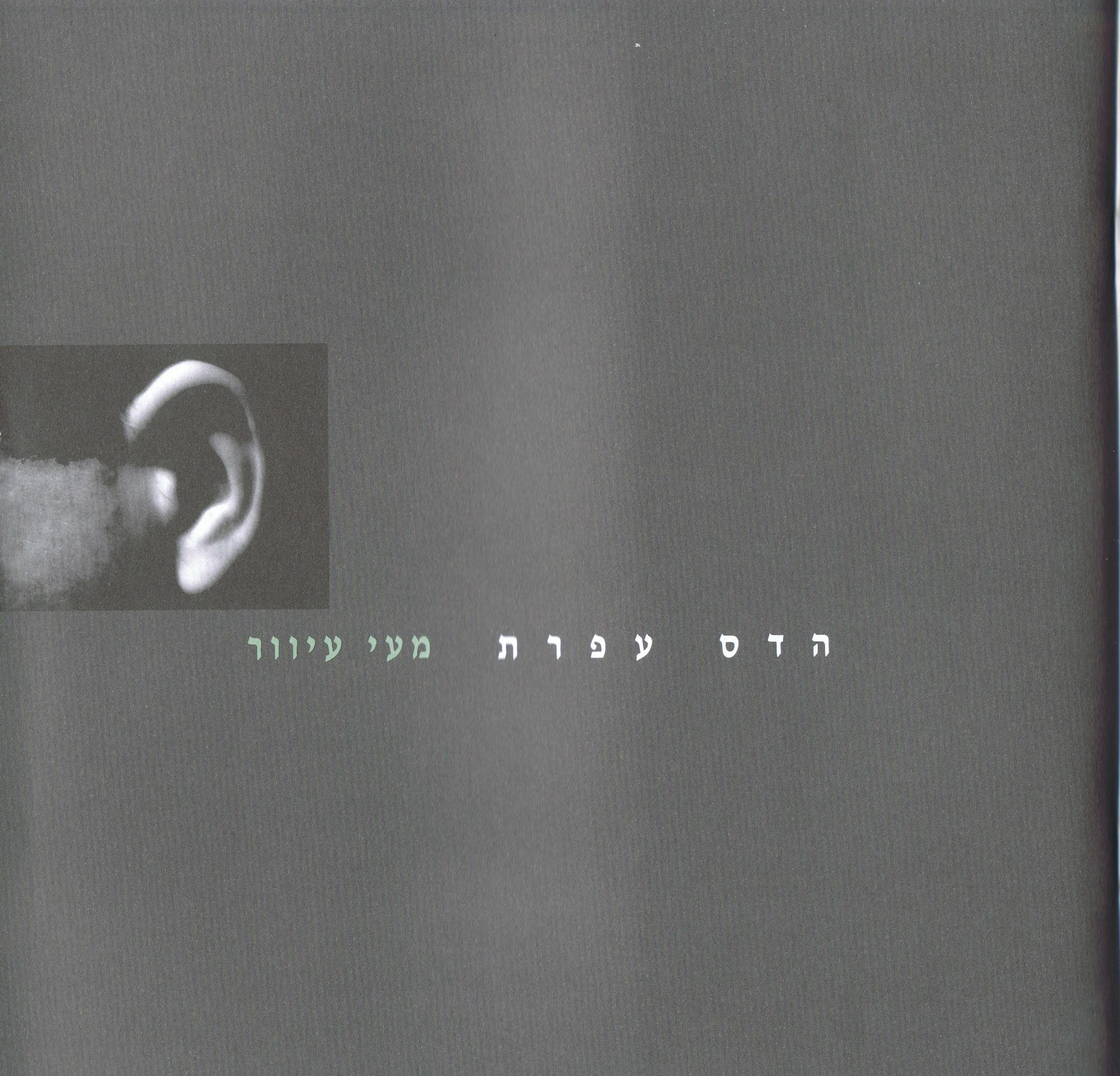 Blind Gut, Catalog (Hebrew & English), Exhibitions at Be'eri and Nachshon kibbutz Galleries,  2002