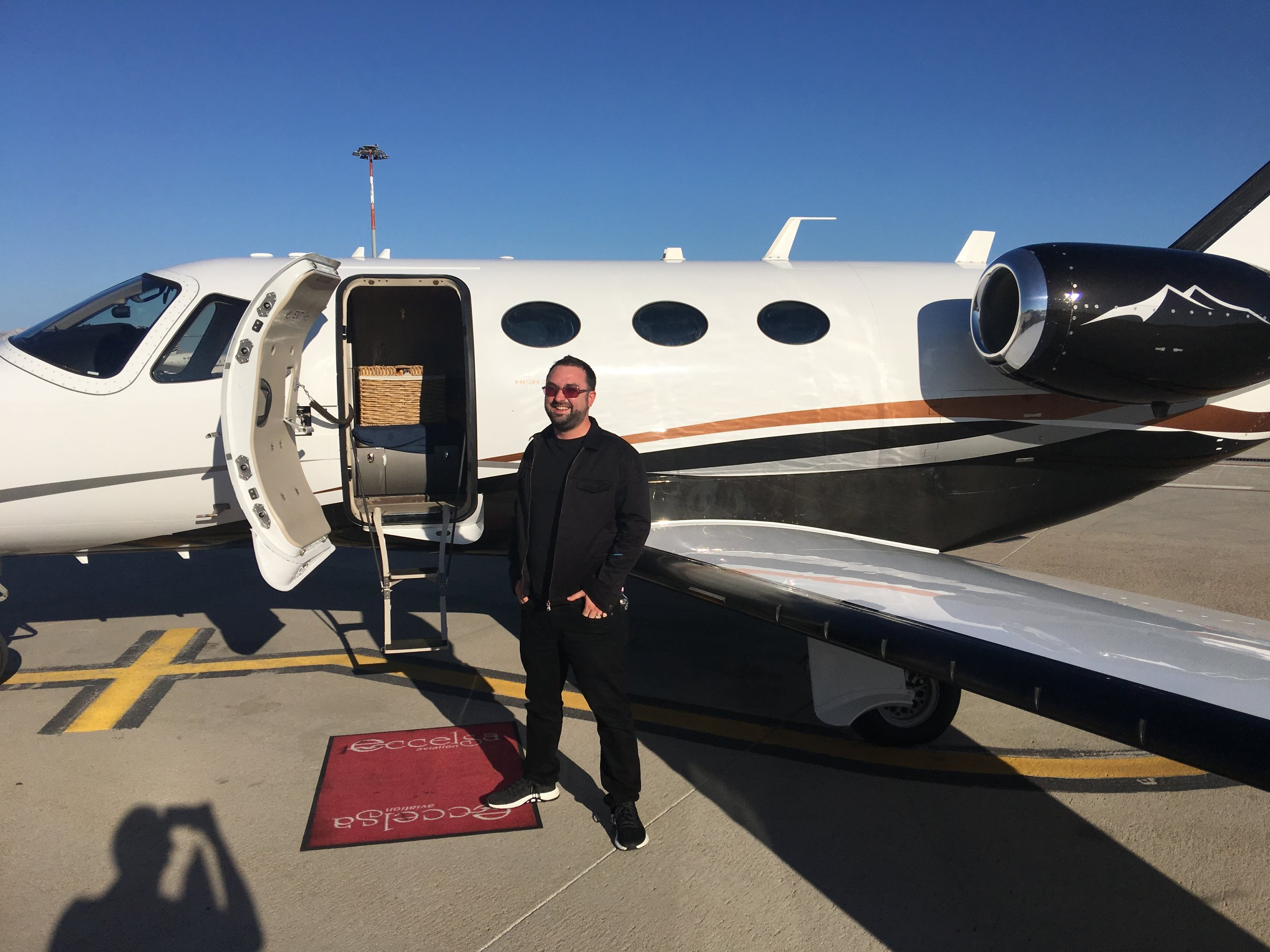 The time I was flown in a jet to a gig. We weren't allowed to know who they were. Maybe they live in one of those massive houses in Chorleywood or Moor Park?