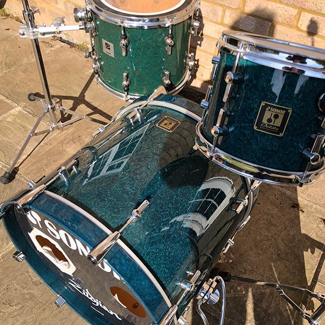 Lots of #sonordelite #sonordesigner #sonordrums for sale here in the UK - check out www.tobygoodmanmusic.com/sonor for pics and deets