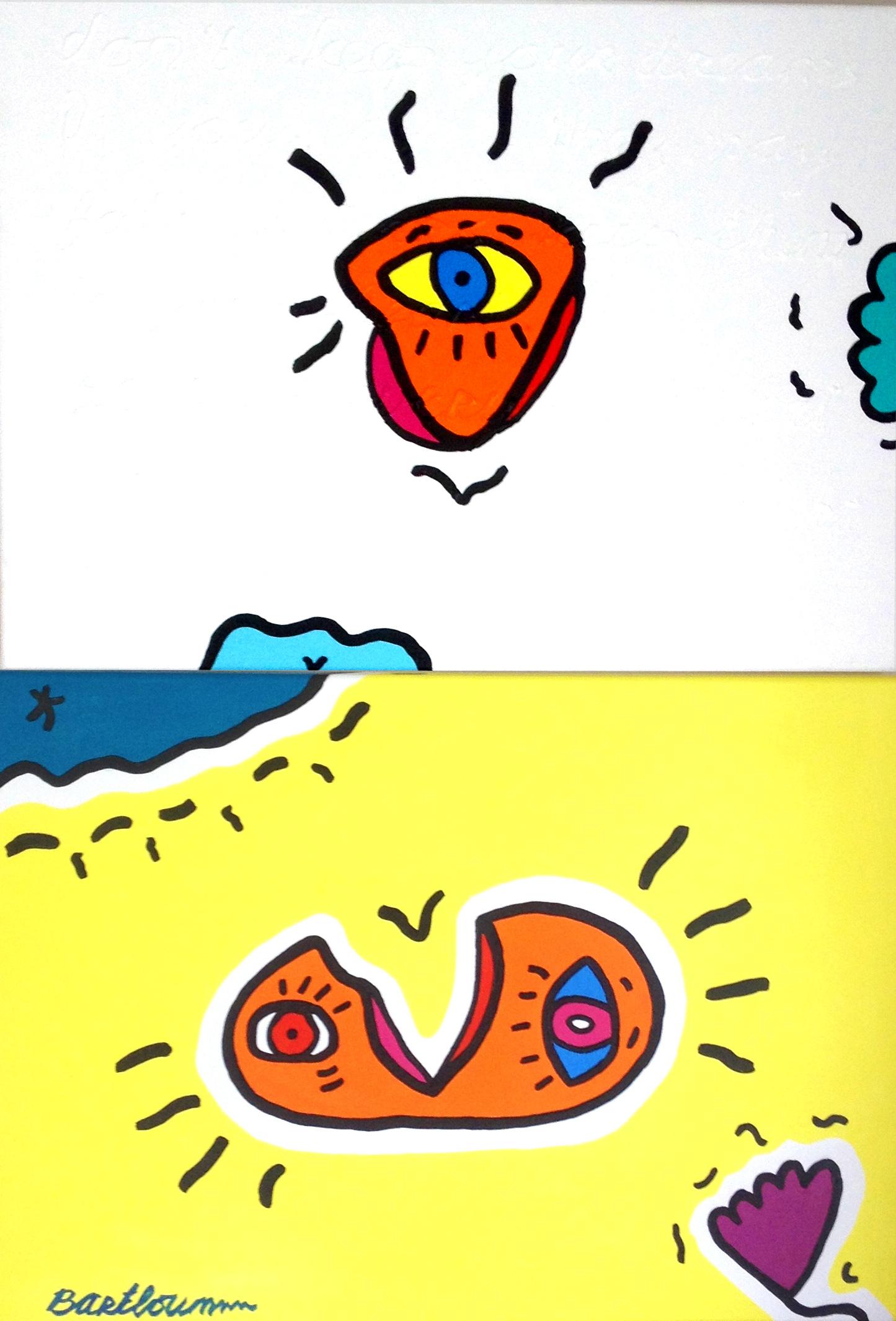 """Orange on a Sandy Beach"""