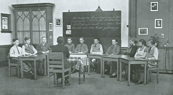 Onderwijs aan de Ammanschool, Rotterdam