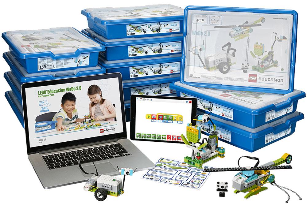 Ciência, Robótica e Programação com LEGO® Education WeDo 2.0 - LEGO Education WeDo 2.0