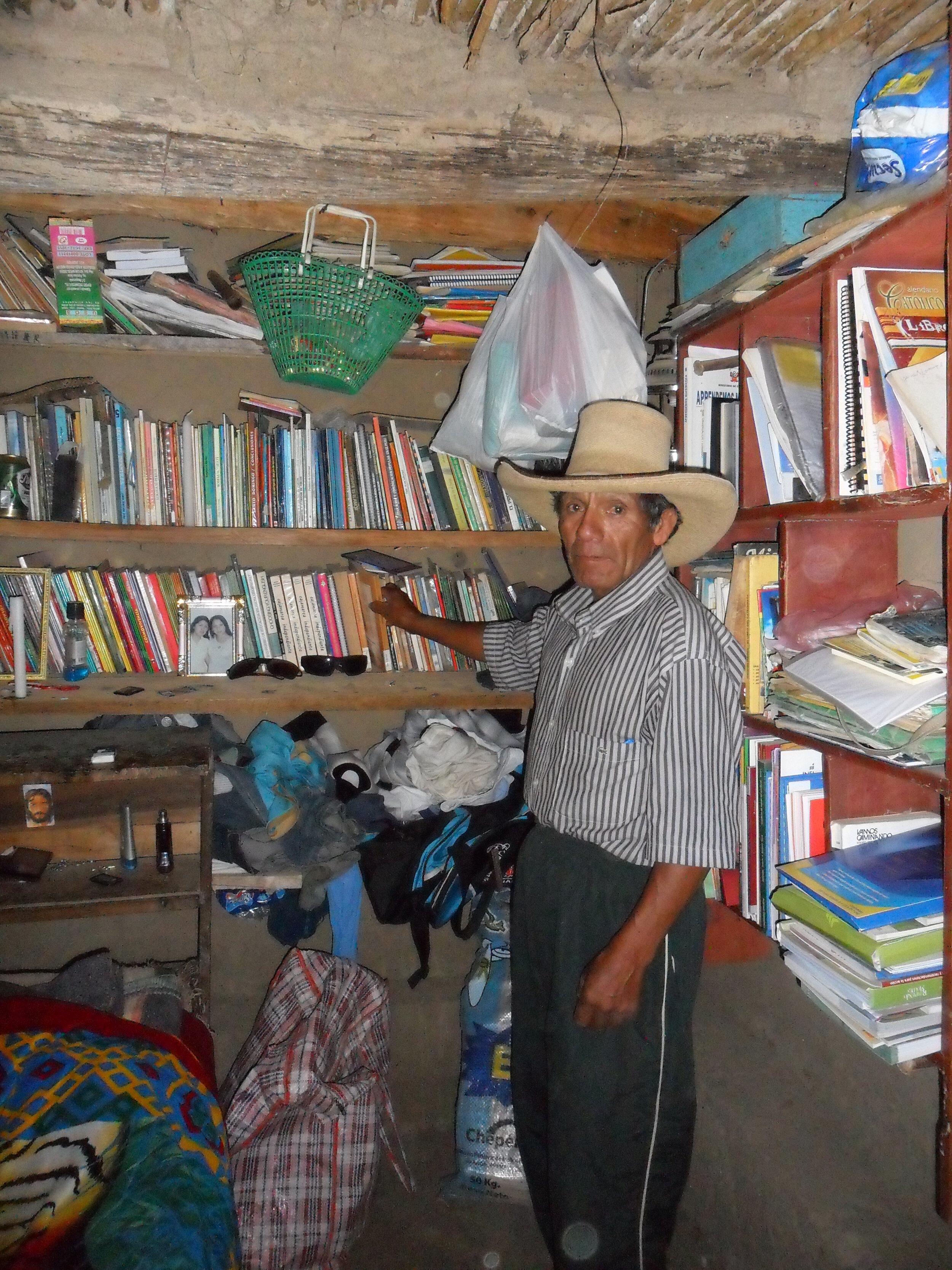 Jacinto - Library Co-ordinator