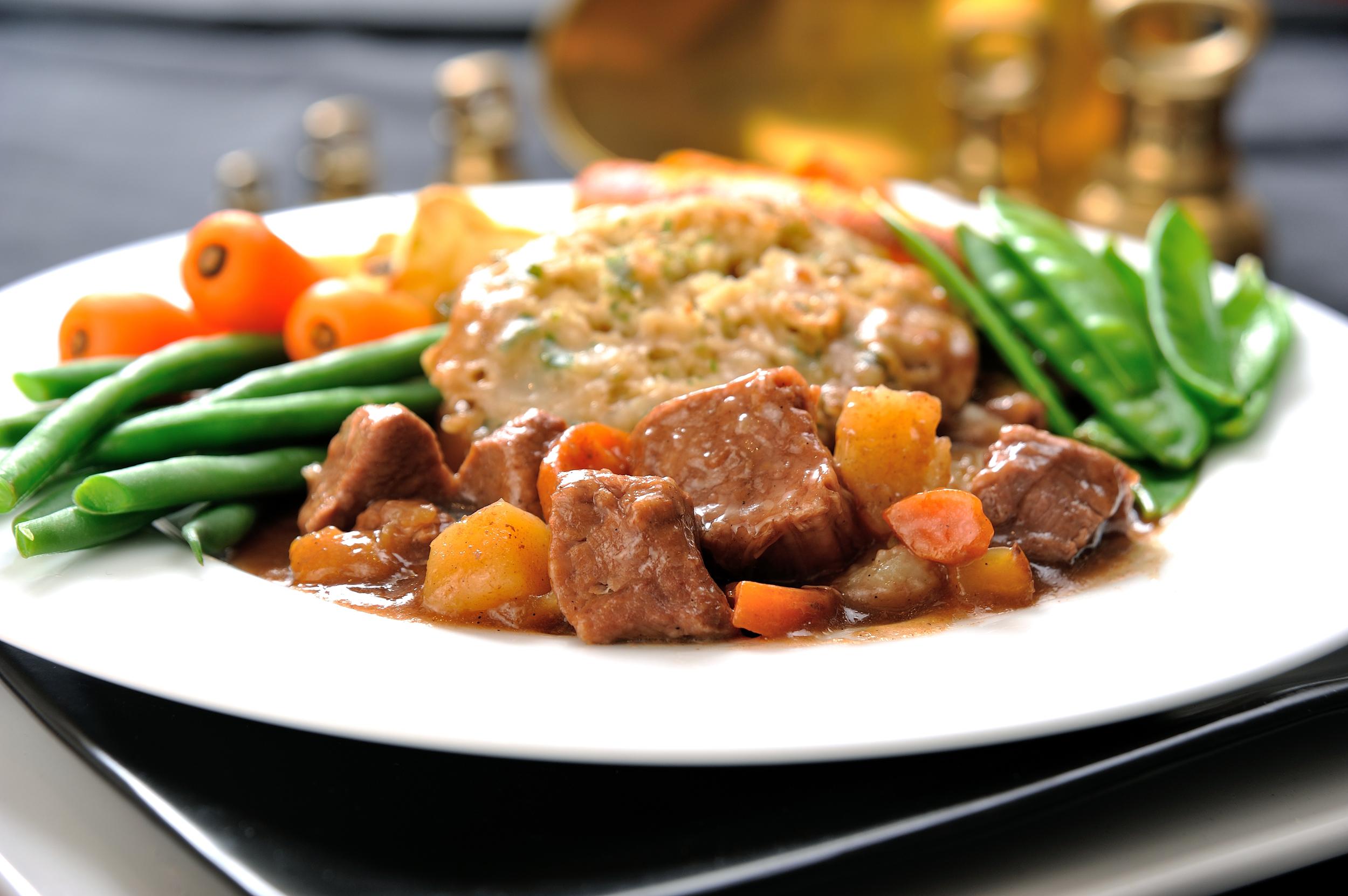 Beef Stew & Parsley Dumpling