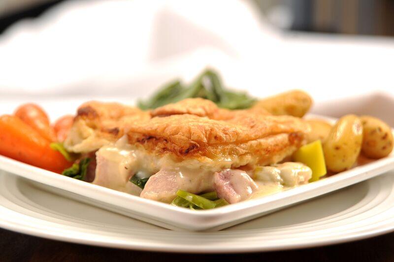 Chicken, Ham and Leek Pie