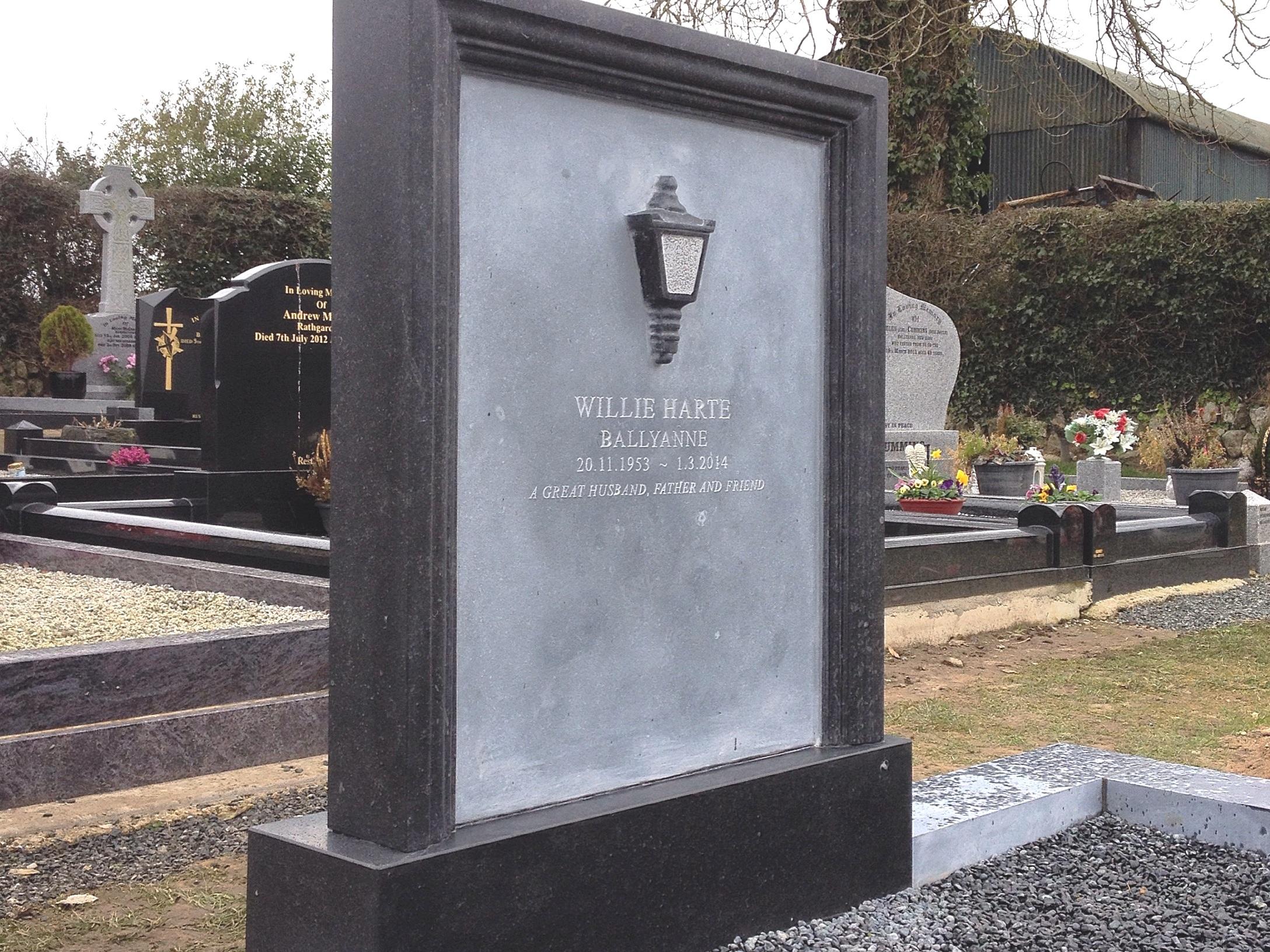 Bespoke Limestone Memorial
