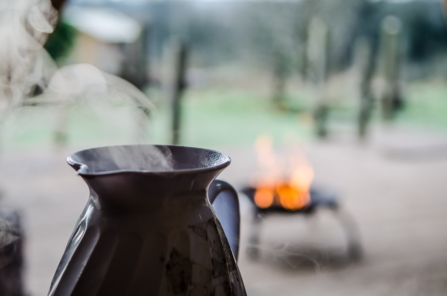 Hot drinks and warming fires were a must this week, keeping the cold winds at bay, and maintaining the longevity of the children's interest whilst outside.