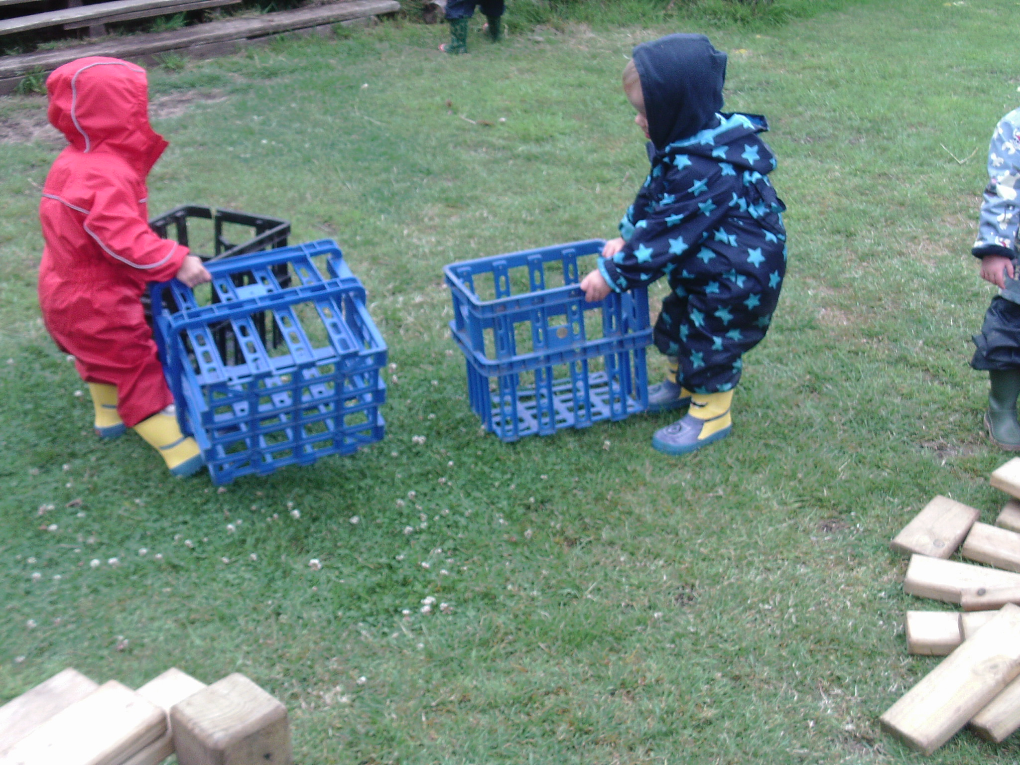 Forest School in the Burrow