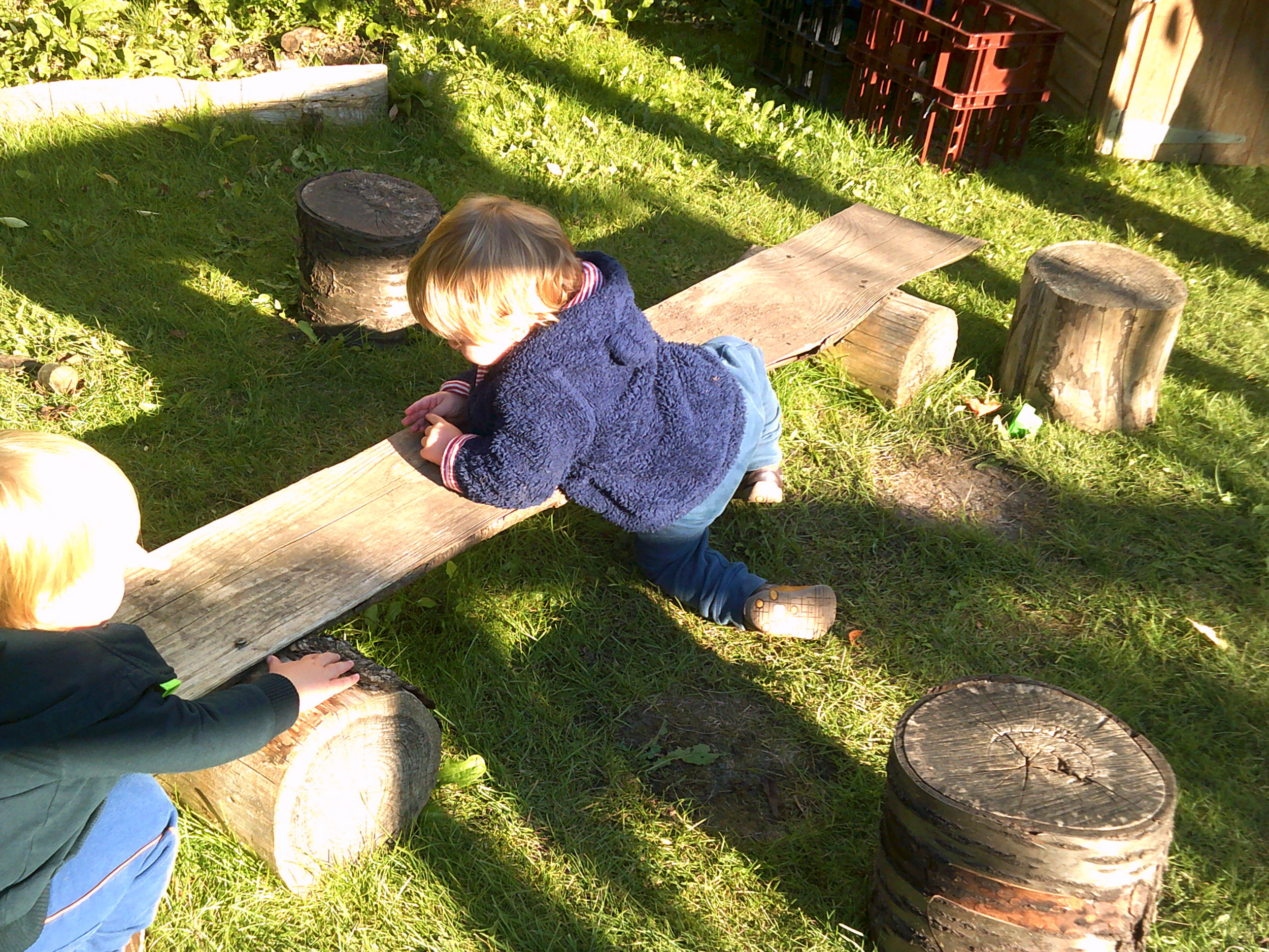 Forest School and the benefits of Risk Taking