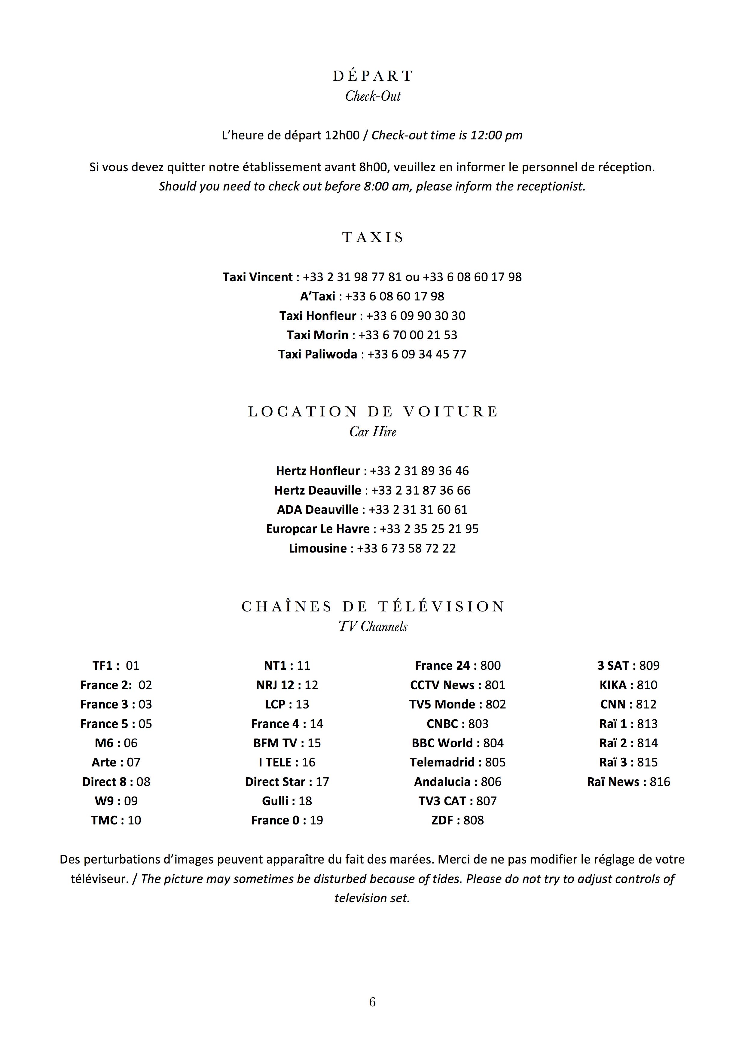 Room Directory