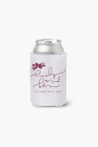 Wedding Koozie Design
