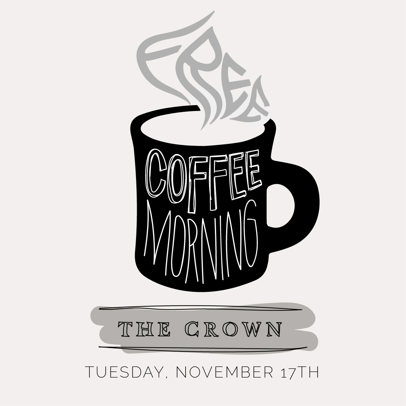 The Crown Inn Free Coffee Morning