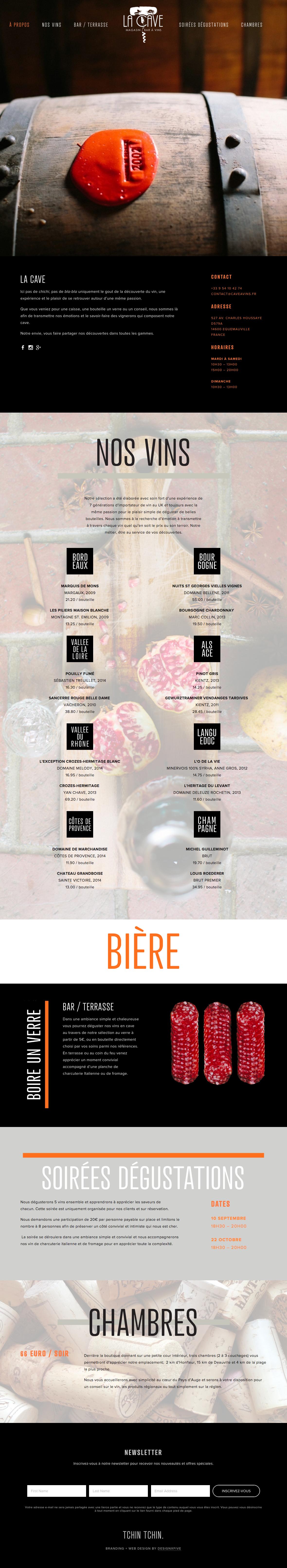 la-cave-web-design-x-five-small-business-wine-shop